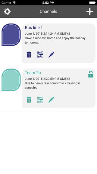 Smokesignal app
