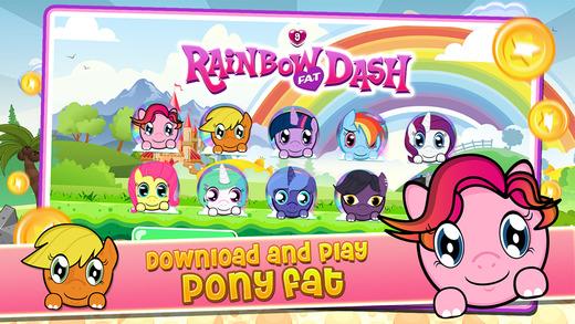 "Rainbow Dash ""PONY FAT Impossible Edition"""