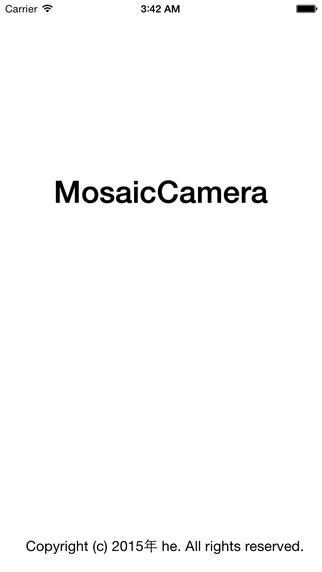 MosaicCamera
