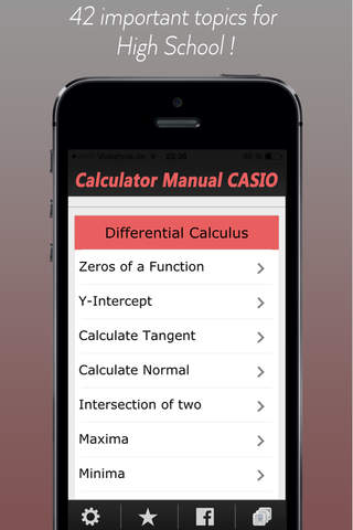 CASIO Graph Calculator Manual screenshot 1