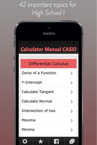 CASIO Graph Calculator Manual screenshot 1