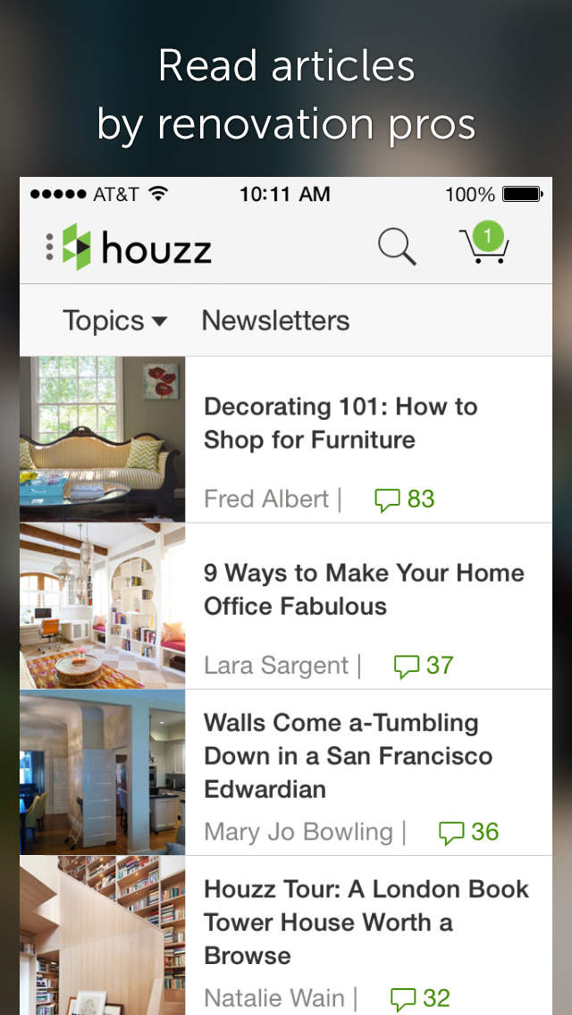 App Shopper Houzz Interior Design Ideas Lifestyle