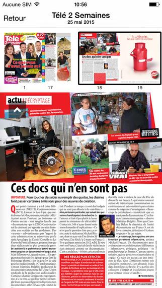 玩免費娛樂APP 下載Télé 2 Semaines le magazine app不用錢 硬是要APP