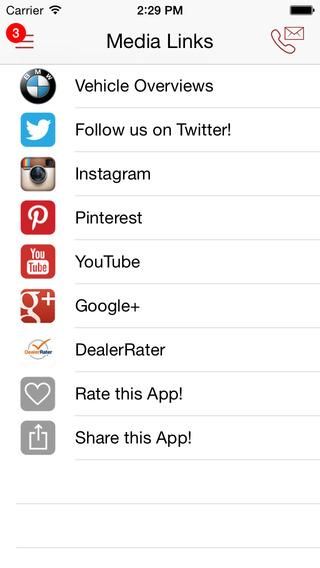 Circle BMW iPhone Screenshot 5