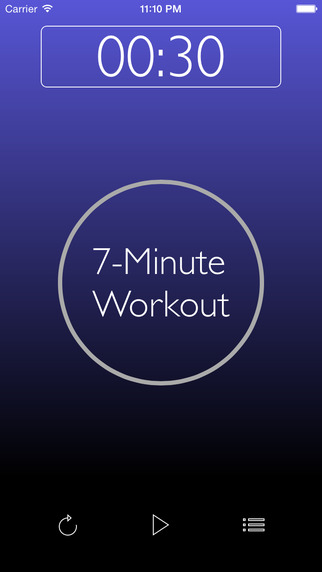 Lucky Seven: 7-Minute Workout Challenge Musical Interval Timer with RunKeeper Integration more