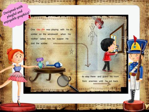 玩免費書籍APP|下載The Tin Soldier for Children by Story Time for Kids app不用錢|硬是要APP
