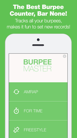 Burpee Counter - The Only Workout Tracker That Tracks Your Reps With Your Microphone
