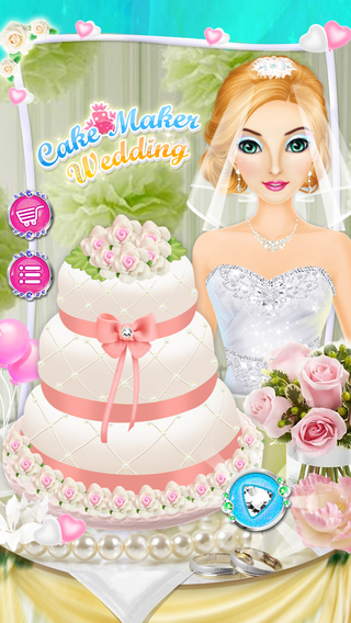 Cake Maker - Fresh Cake Baking Cooking Decoration on Wedding Party Event