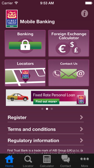 First Trust Bank Mobile Banking
