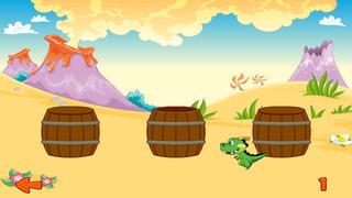 Prehistoric Beast Barrel Hunt - Find the Dino Arcade Game- Pro