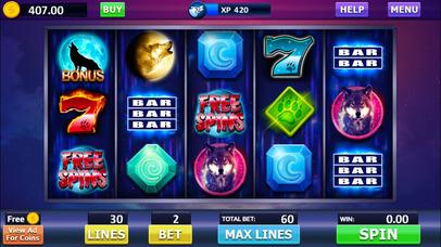 Screenshot 1 Howling Wolf: Spirit of the Moon Vegas Slots