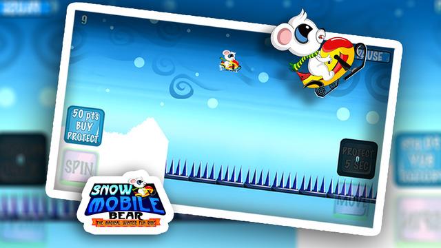 Snow Mobile Bear: The Magical Winter Fun Ride - Gold