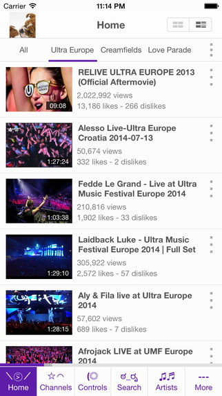 EDM - Electronic Dance Music for YouTube
