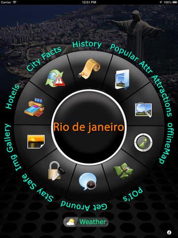 免費下載旅遊APP|Rio de Janeiro Offline Map Travel Guide app開箱文|APP開箱王