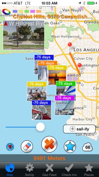 Sail Share Social Maps