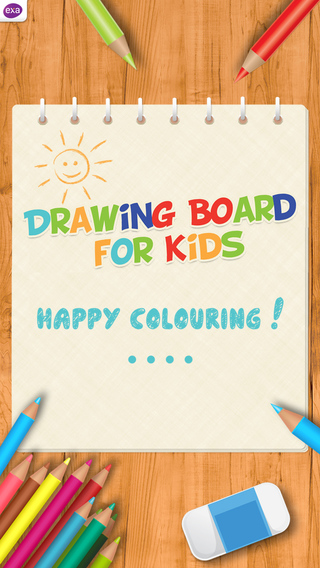 Doodle Drawing Board for Kids