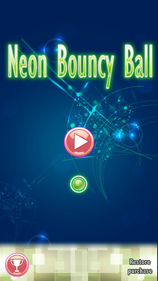 Neon Bouncy Ball