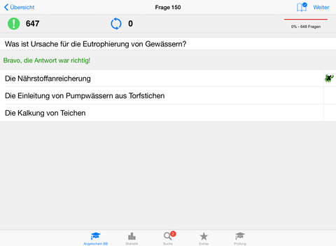 Angelschein Brandenburg iPad Screenshot 2