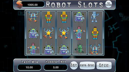 AAA Robot Adventure Slots Machine Casino Game - Win Progressive Chips with 777 Wild Cherries and Bon
