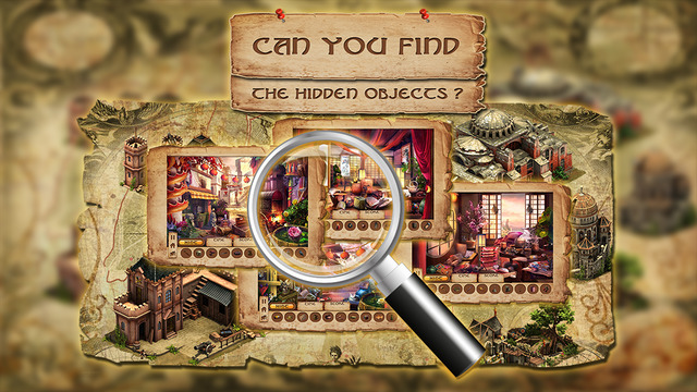 Treasure of the Lost Temple - Hidden Objects