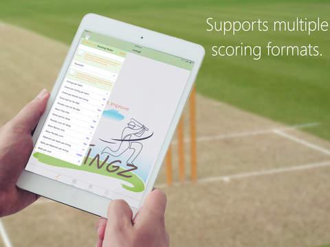 inningZ Cricket Scorer iPad Screenshot 4