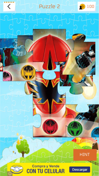 Jigsaw Puzzles for Power Rangers