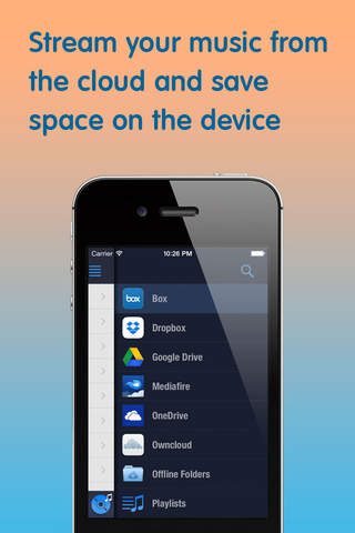 how to put music on onedrive on iphone