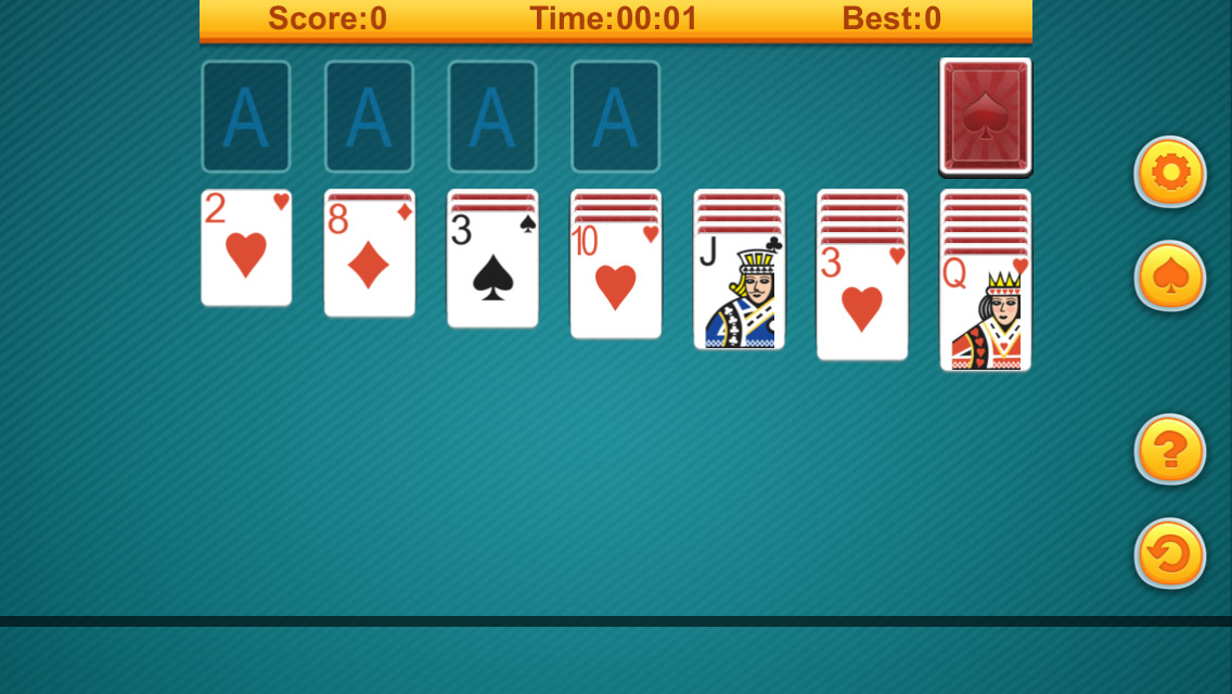 spider solitaire free games online
