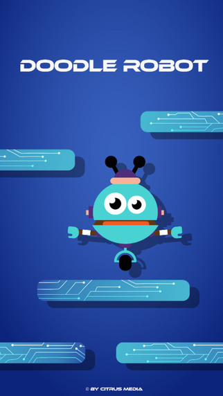 Doodle The Robot - Jump Sprint Like Super Heroes