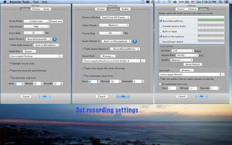 Recorder Tools Screenshot - 2
