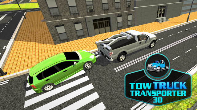 Tow Truck Transporter 3D