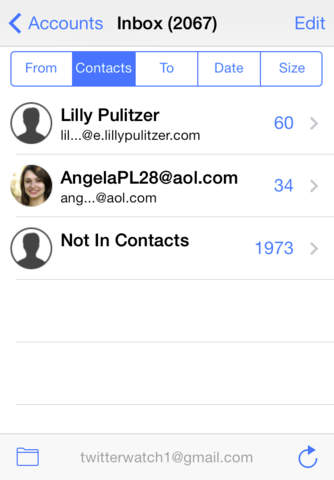MailTamer screenshot 2