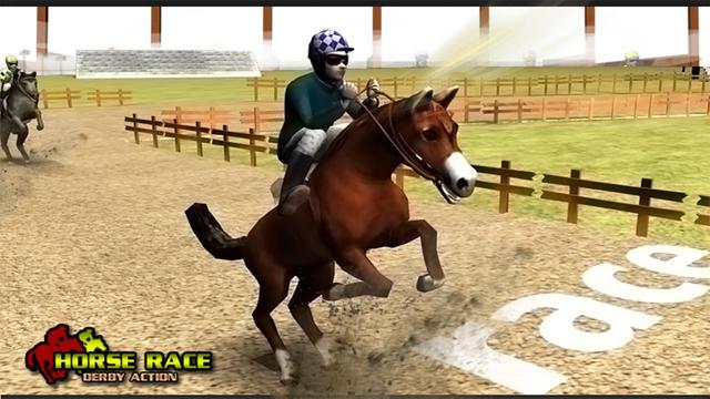 玩免費遊戲APP|下載Horse Race Derby Action app不用錢|硬是要APP