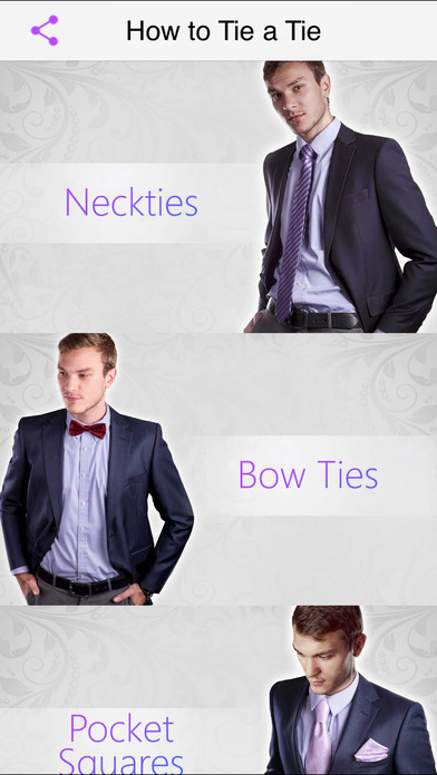 How to Tie a Tie Pro iPhone Screenshot 5