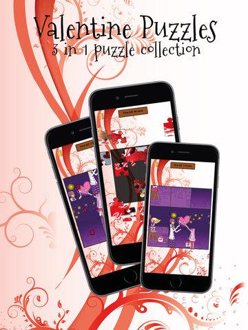 玩免費遊戲APP|下載Valentine Puzzles for Couples app不用錢|硬是要APP