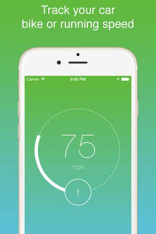 iSpeedo - GPS Speed Tracker screenshot 4