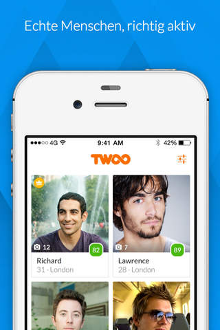 Twoo Premium - Meet new people screenshot 1