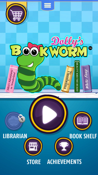 Dolly's Bookworm FREE - The Book-Lovers Puzzle Game