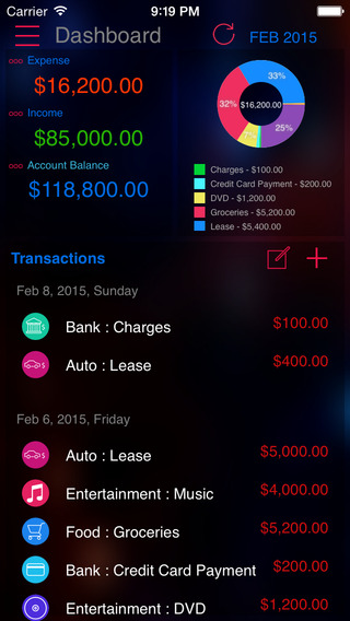 Expense Tracker Pro : Manager for Home budget acco