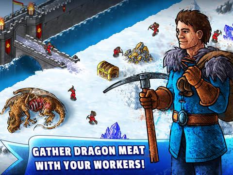 WinterForts: Exiled Kingdom Empires at War (Strategic Battles and Guilds) Screenshot