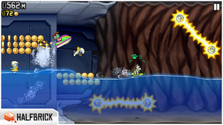 Screenshot #10 for Jetpack Joyride