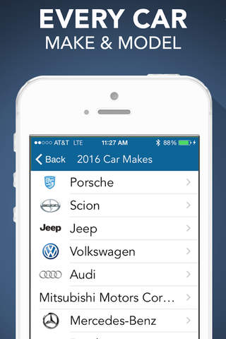 1501 Car Buying Guide with Fuel Efficiency and Safety Ratings screenshot 1