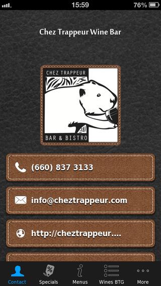 Chez Trappeur Wine Bar