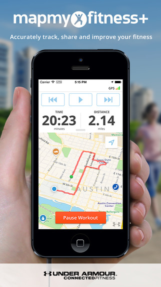 Map My Fitness+ - GPS Workout Trainer for Fitness Step and Activity Tracking