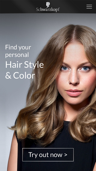 Schwarzkopf Hair - Try out styles colors