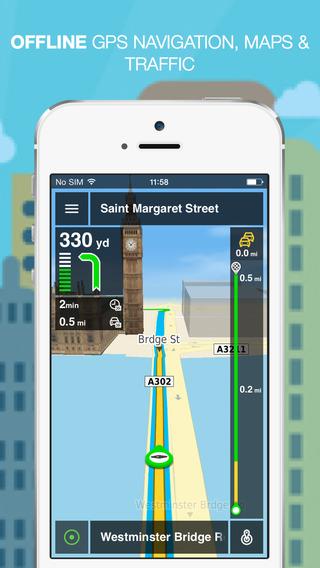 NLife Explorer - Offline GPS Navigation Traffic Maps