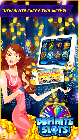 Definite Slots™ - Hit The House Of Rich Fun