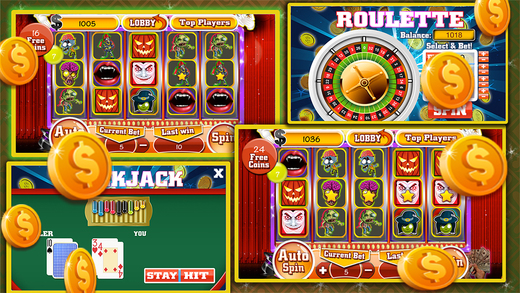Casino Slots-Blackjack-Roulette-Free