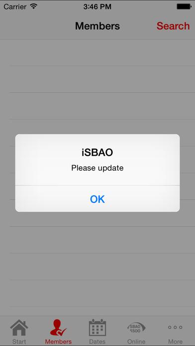 iSBAO iPhone Screenshot 3
