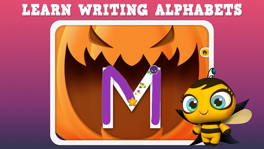 Pumpkin Trace Halloween: Uppercase Alphabet Tracing Playtime for Kids FULL